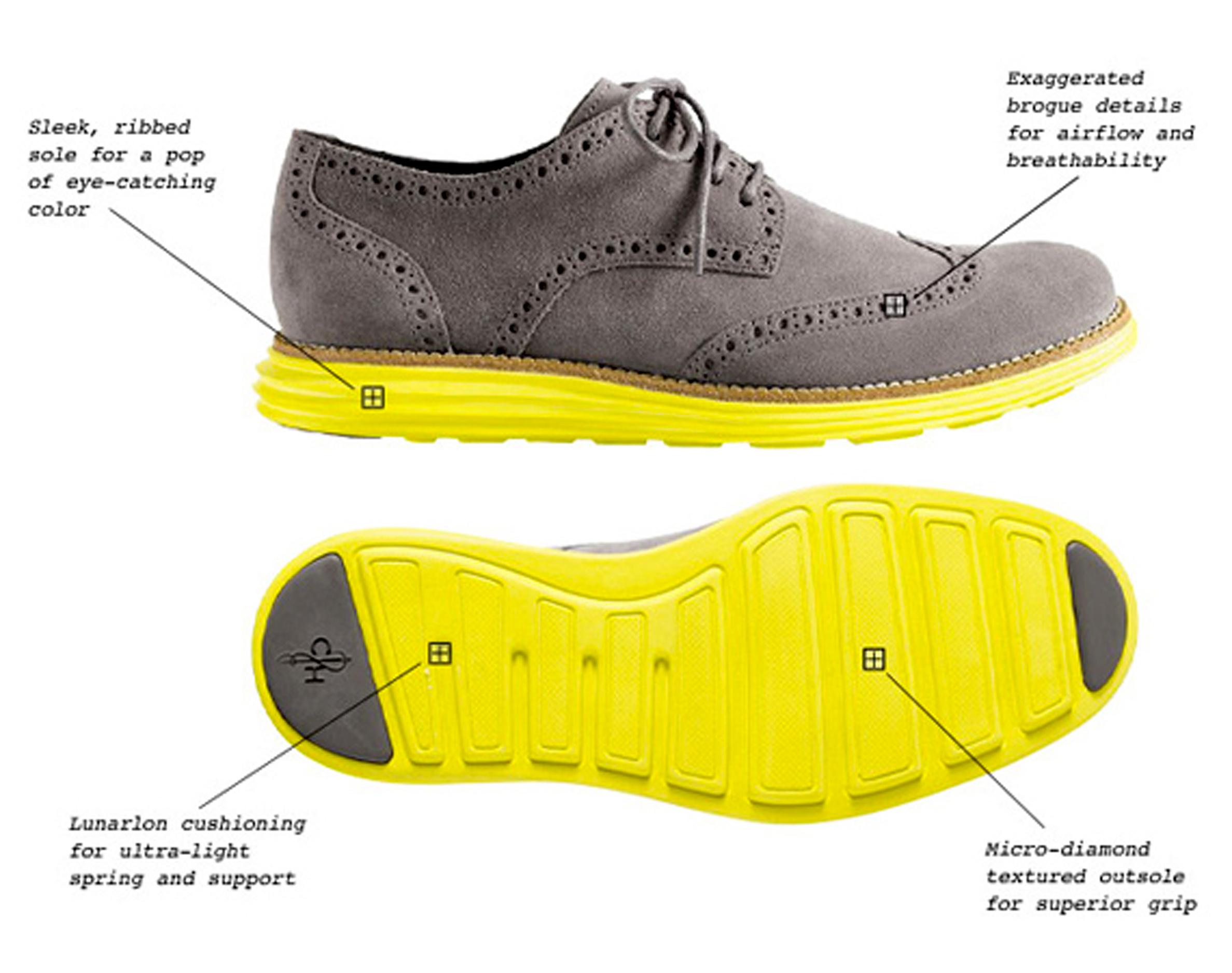 5338752d477430 Theyve been making high quality footwear Enter Lunarlon cushioning ... Cole  Haan LunarGrand Wingtip ...